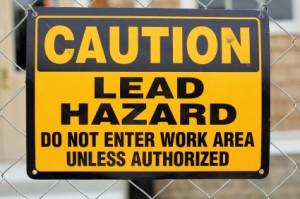 Lead Abatement Sign